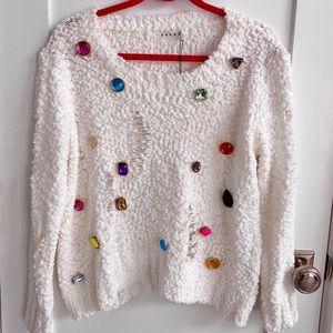 Rehab Super Soft 💎 Gemstone sweater